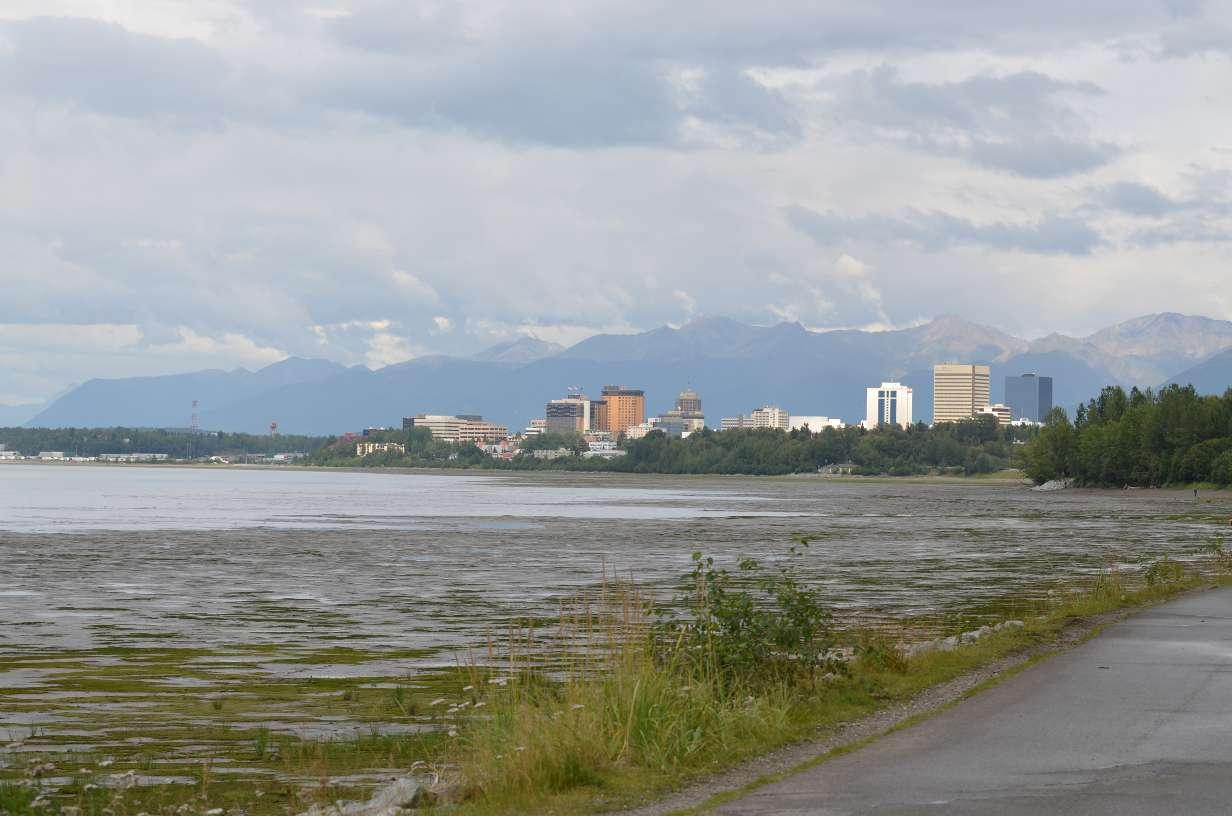 View of Anchorage, AK