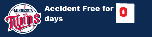 Accident Free Banner