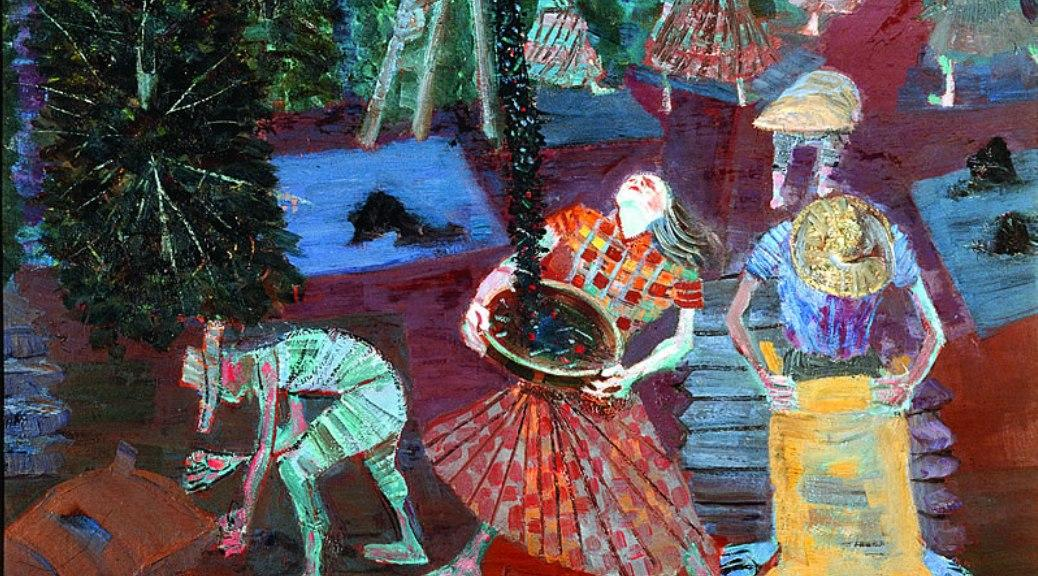 Coffee Harvest by Candido Portinari