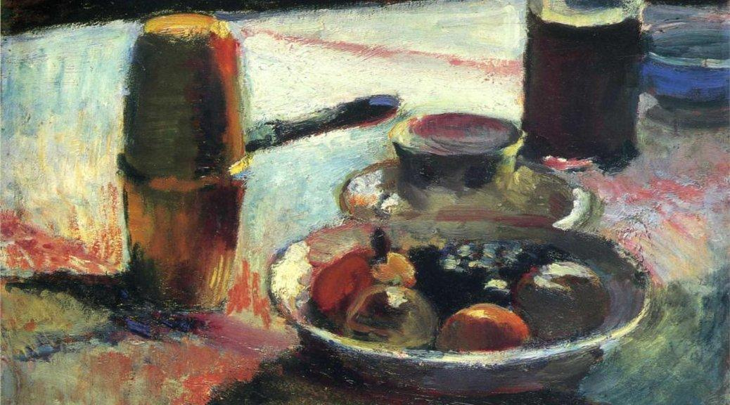 Fruit and Coffee-Pot by Henri Matisse