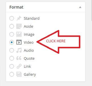 Format-video