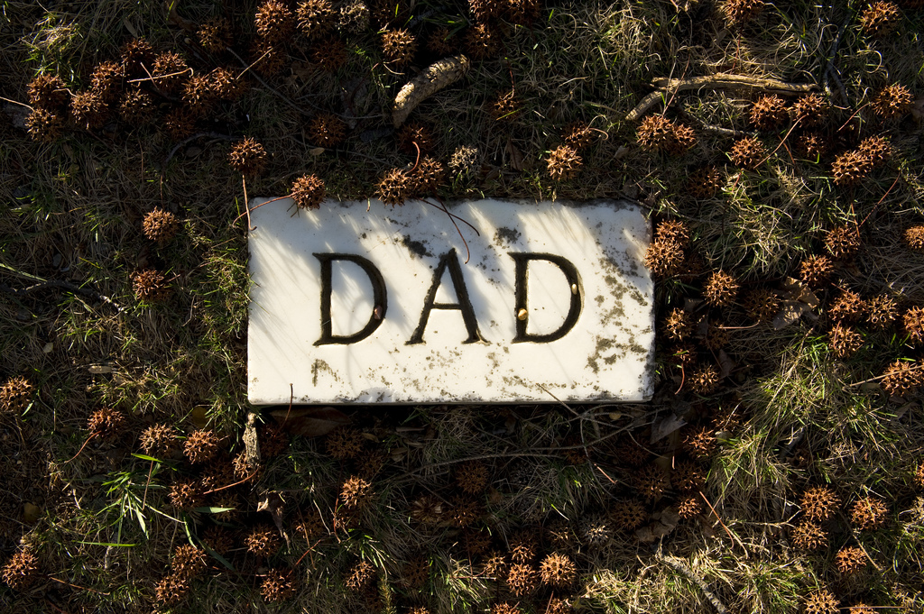Dad headstone