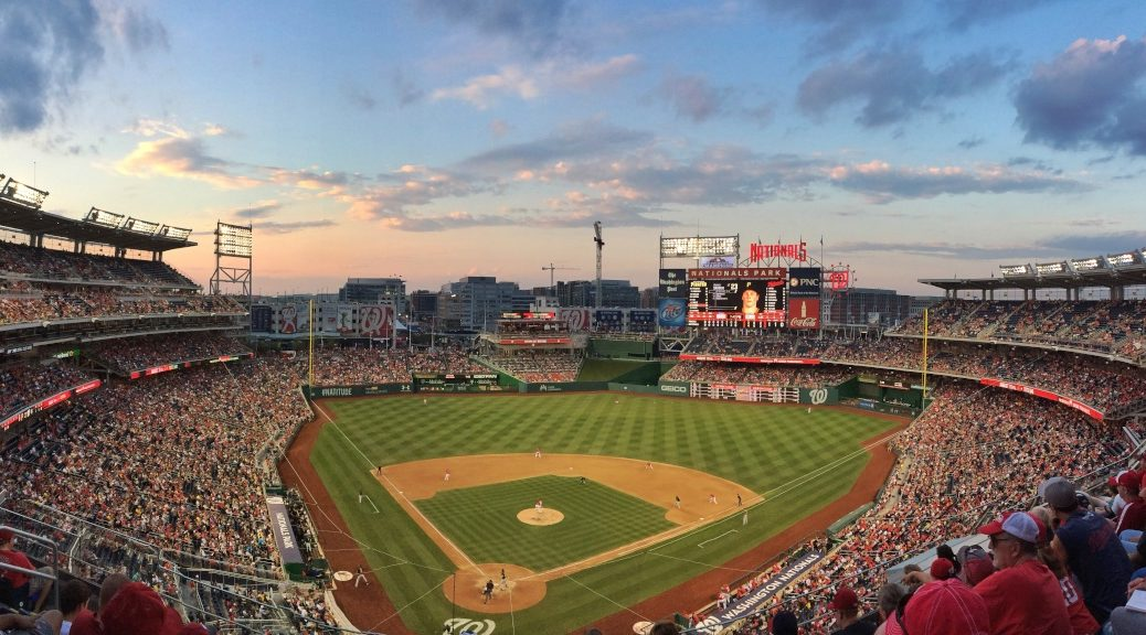Nationals Park sunset